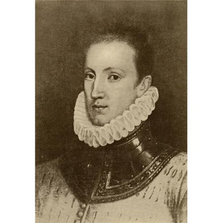 Posterazzi DPI1857642LARGE Sir Philip Sidney 1554-1586 English Poet Courtier & Soldier From The Book Poster Print, Large - 24 x 36 - image 1 of 1