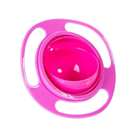 Stylish Infants Baby Baby Gyro Feeding Bowl Spill Feeding Bowl Toddler Gyro 360 Rotating Bowl Funny Gift Baby Accesories