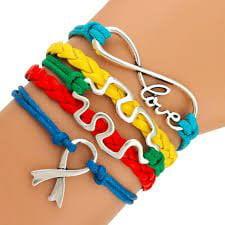 Autism Bracelet, Autism Awareness Jewelry, Autism Puzzle Piece Bracelet Makes the Perfect Gift