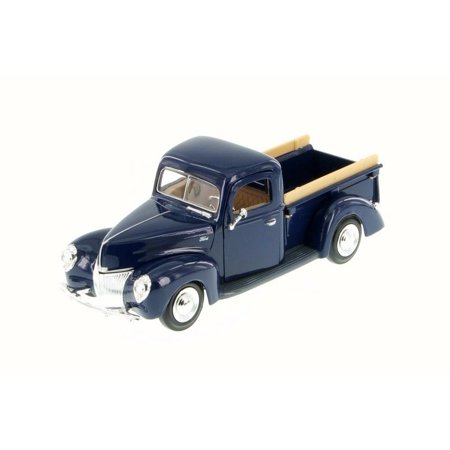 1940 Ford Pick Up truck, Blue - Motor Max 73234WB - 1/24 Scale Diecast Model Toy Car