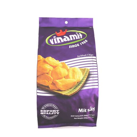 Vinamit Vietnam Jackfruit Chips   High Quality Food   500 Gram