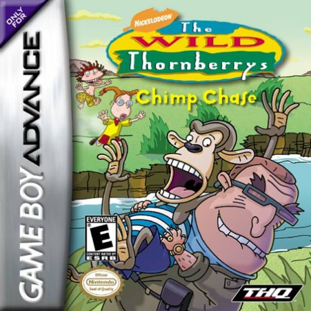 The Wild Thornberrys Chimp Chase GBA
