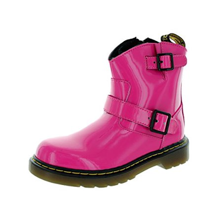 Dr. Martens Lydia Boot (Toddler/Little Kid),Hot Pink,US 4/UK 3](buy doc martens online)