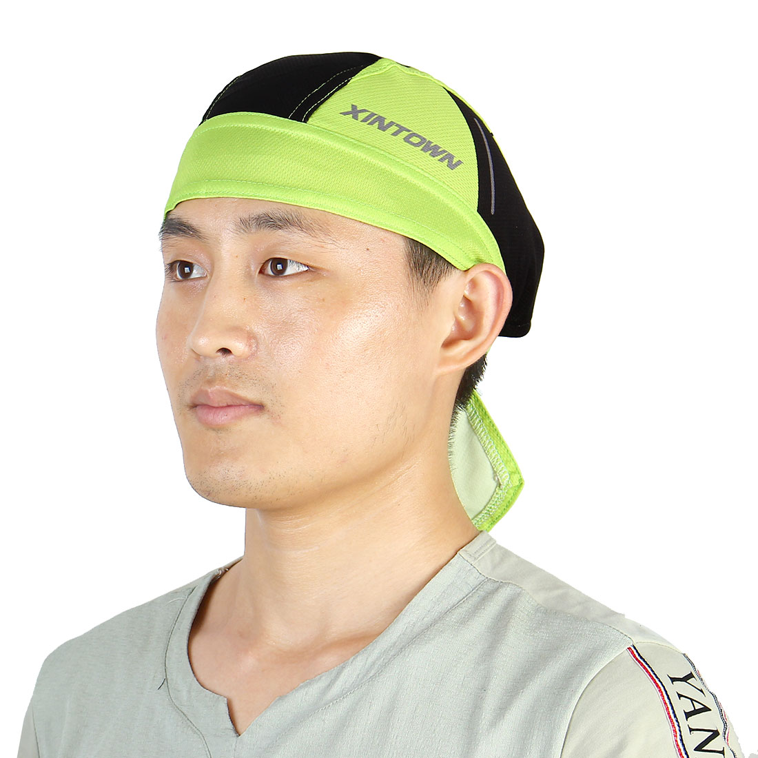 XINTOWN Authorized Adult Unisex Quick Dry Headscarf Cap Cycling Riding Sports Pirate Hat