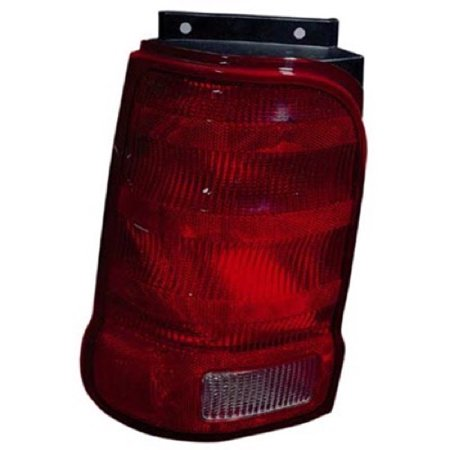 Go-Parts OE Replacement for 2001 - 2003 Ford Explorer Rear Tail Light Lamp Assembly / Lens / Cover - Right (Passenger) Side - (Sport + Sport XLS + Sport XLT) 1L2Z 13404 DA FO2801151 Replacement