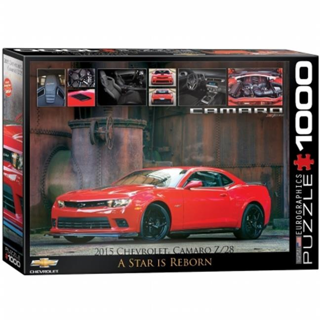 EuroGraphics 2015 Chevrolet Camaro Z/28: A Star is Reborn 1000-Piece Puzzle