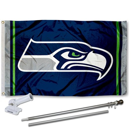 Seattle Seahawks Flag And Accessory Kit