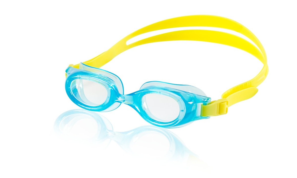 Speedo Jr. Hydrospex Classic Goggle Kids Swim Goggle Blue Hawaii by Speedo