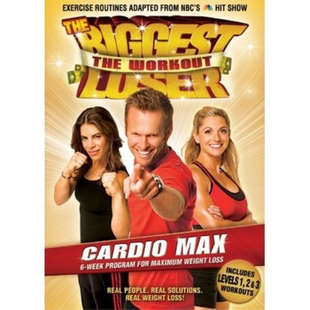 the biggest loser the workout dvd - cardio max - 6 week program for weight loss - exercise routines adapted from the hit (Best Cardio Workout Routine)