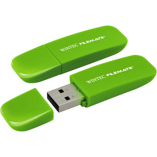 Wintec FileMate Contour 16GB USB Flash Drive, Assorted Colors