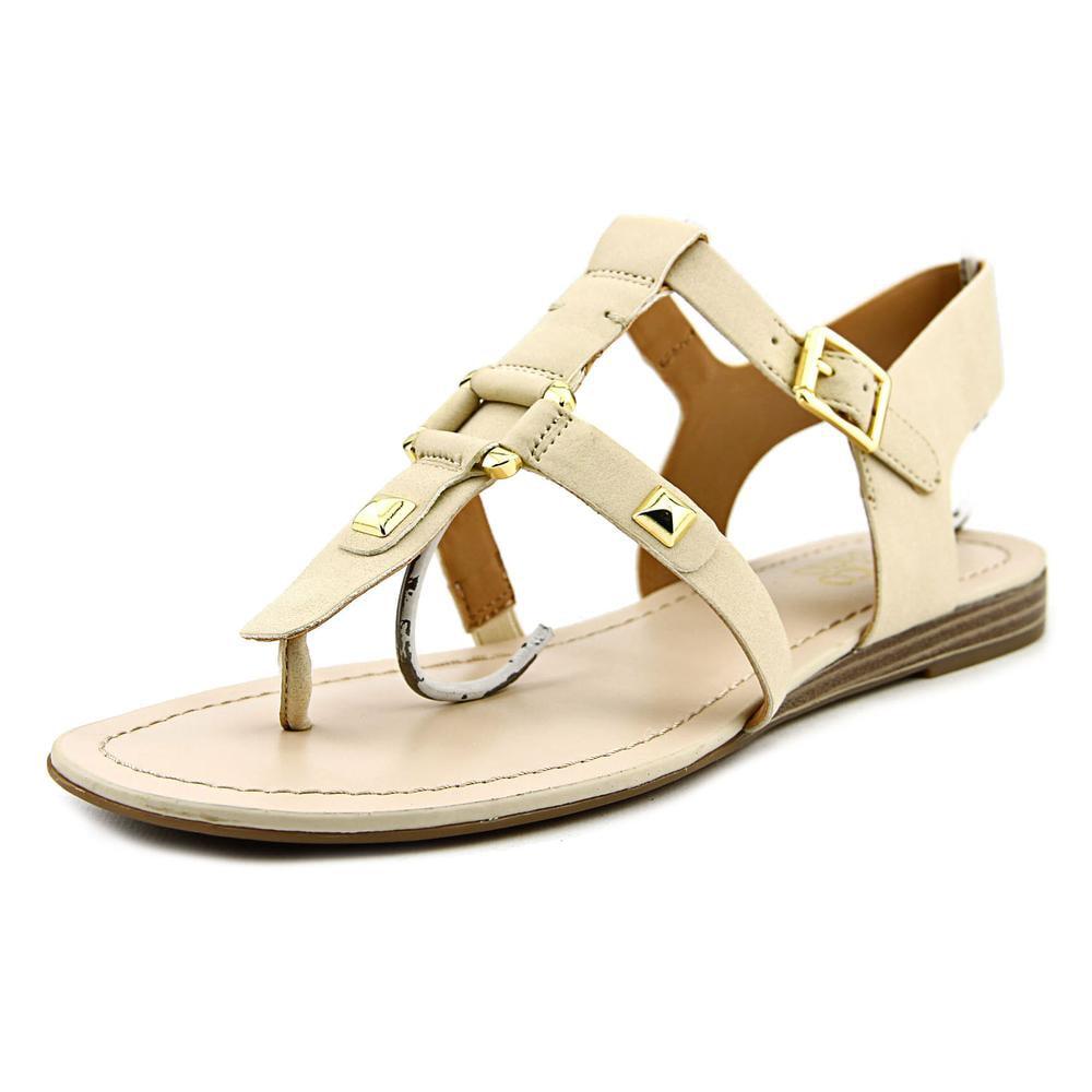 Franco Sarto Geyser Open Toe Synthetic Thong Sandal by Franco Sarto