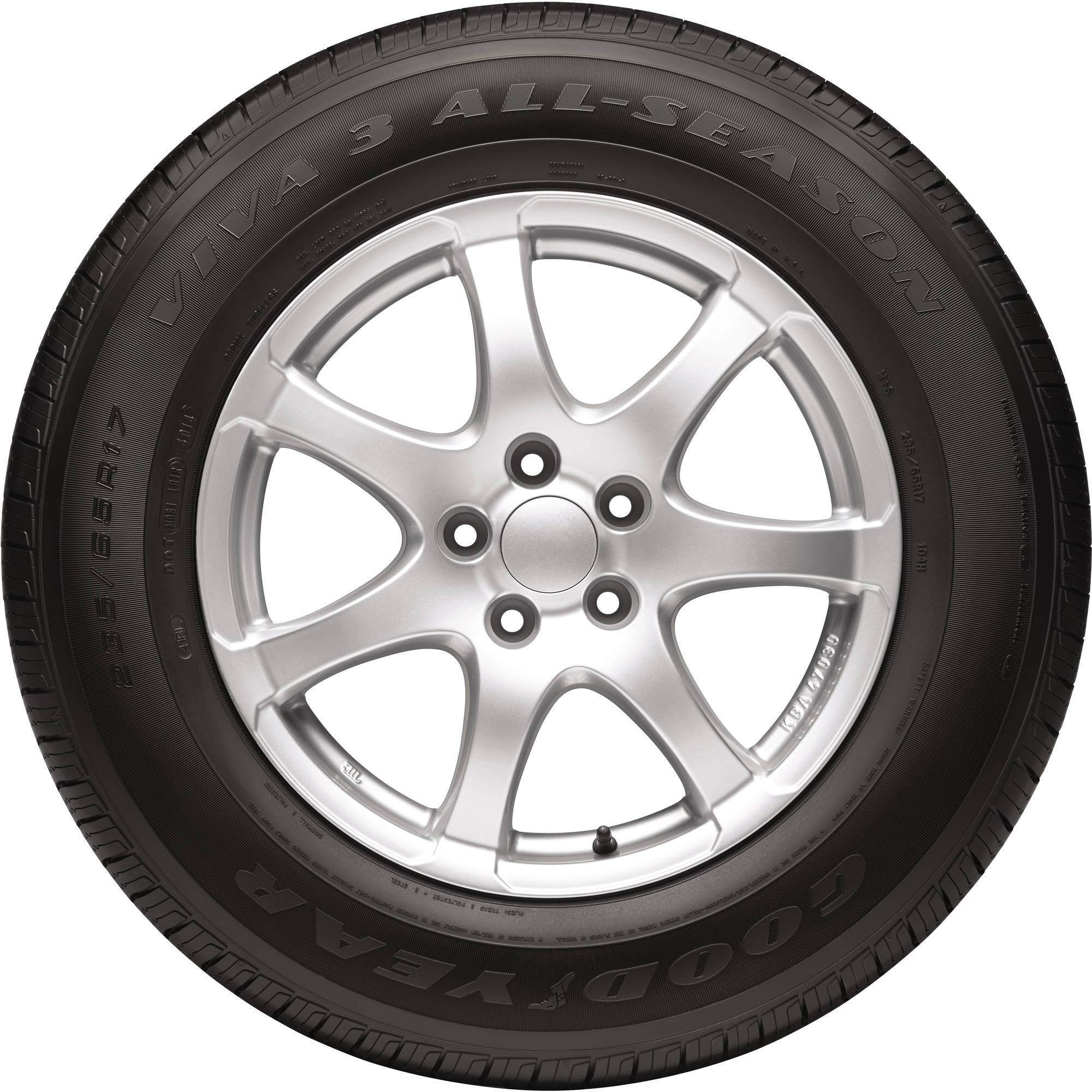 Goodyear Viva 3 All Season Tire 185 65r15 88t Walmart Com