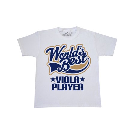 Worlds Best Viola Player Youth T-Shirt