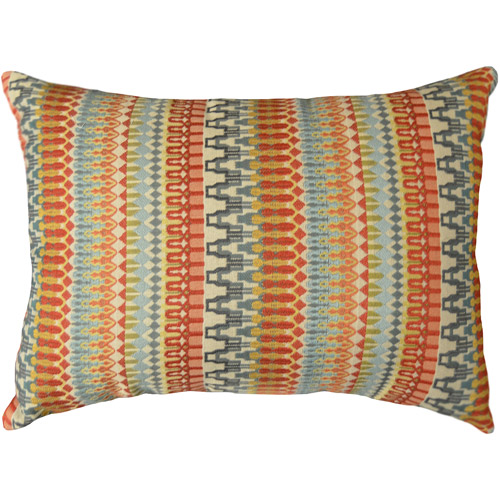 Better Homes and Gardens Woven Stripe Decorative Pillow, Orange