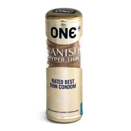 ONE® Vanish Condom 40pk (One Condoms)