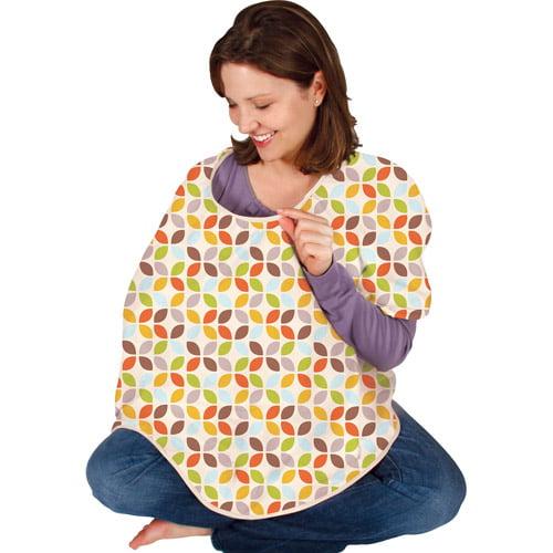 Leachco - Cuddle-U Mother Cover Nursing Cover, Leaf Cluster Multi