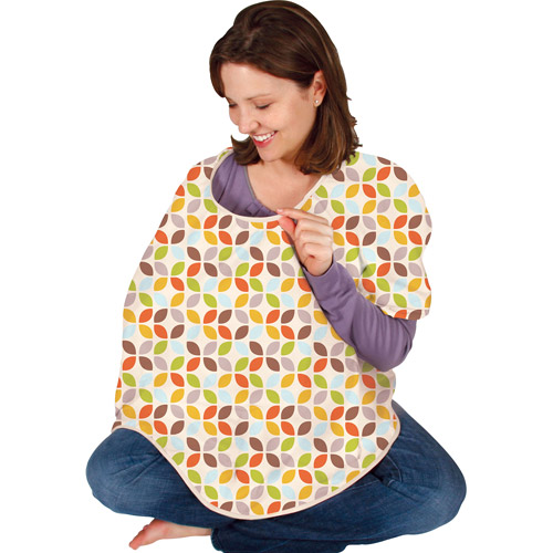 Leachco - Cuddle-U Mother Cover Nursing Cover, Leaf Cluster Multi