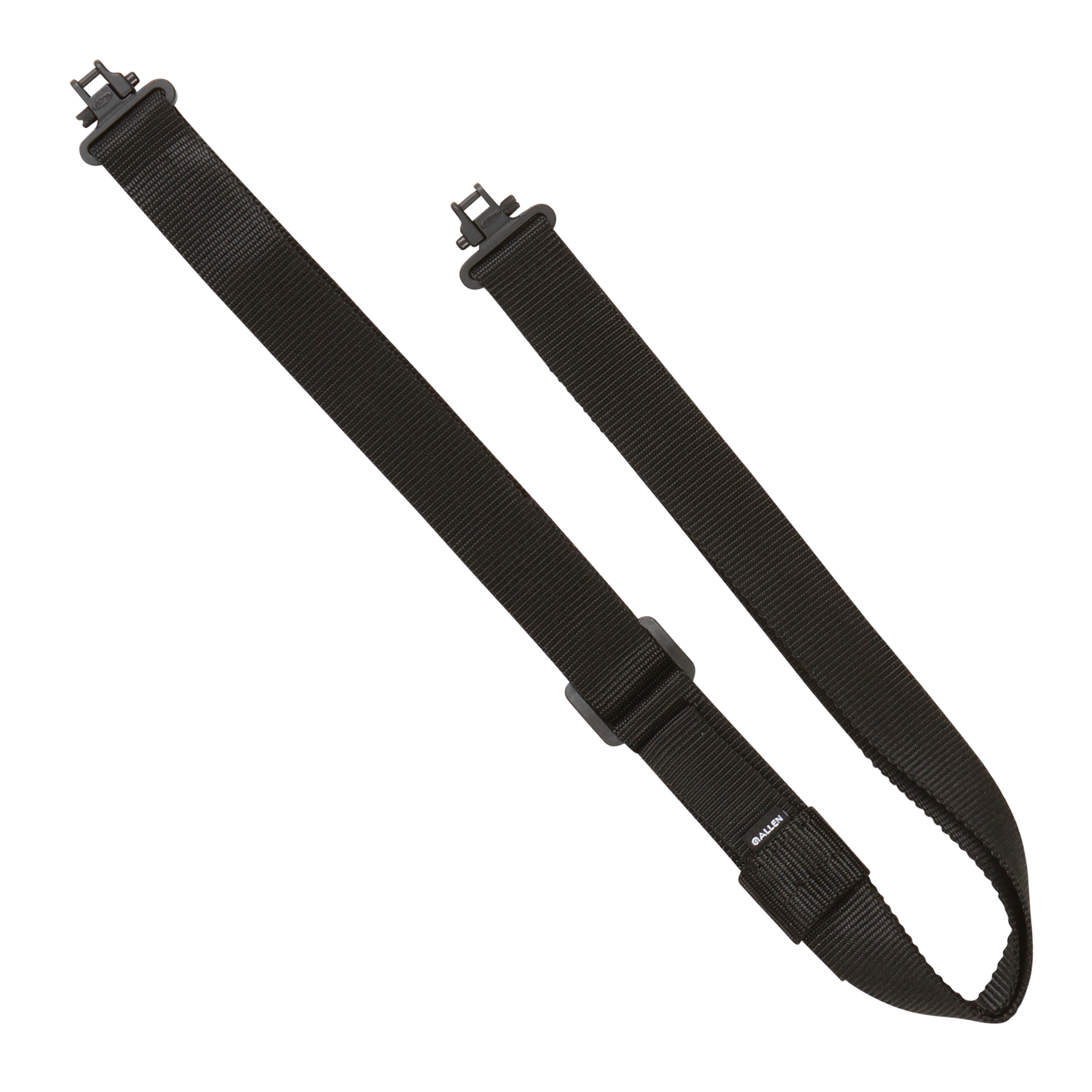 Quick Adjusting Rifle Sling with Swivels, Black