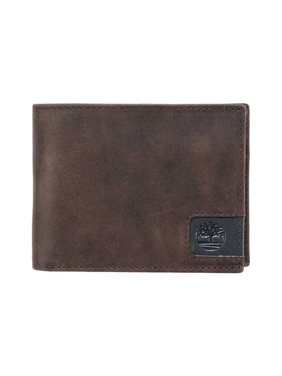 4dbf0e2502b80 Product Image Men's Timberland Cloudy Leather Passcase Wallet Brown OSFA