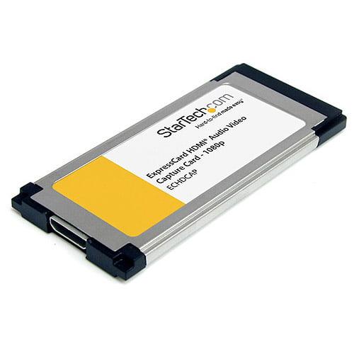 StarTech.com ECHDCAP HDMI to ExpressCard HD Video Capture Card Adapter 1080p