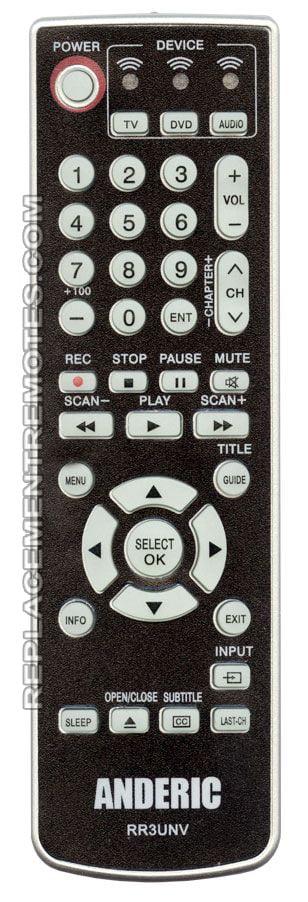 Philips Universal Remote Control SRU3003WM//17 TV Remote Controller