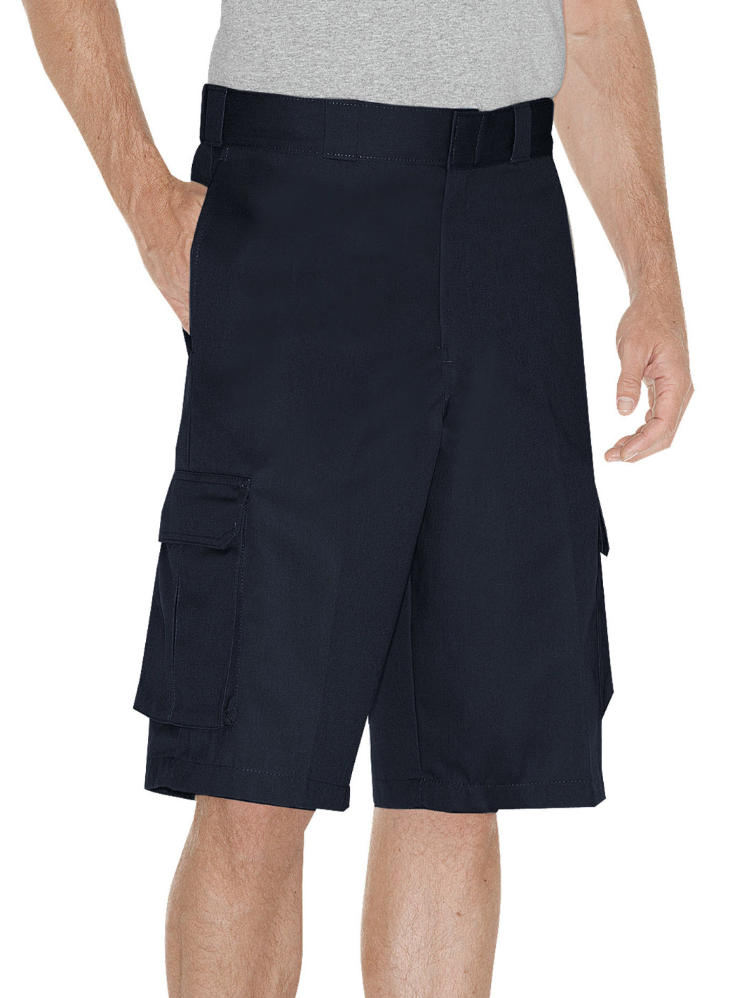 "Big Men's 13"" Loose Fit Cargo Work Short"