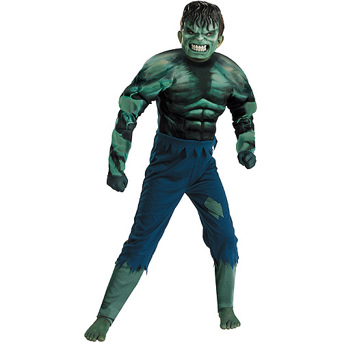 Marvel Hulk Muscle Child Halloween Costume