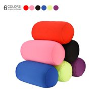 Zerone Mini Microbead Back Cushion Roll Throw Pillow Travel Home Sleep Neck Support Comfortable, travel seat pillow, travel neck support