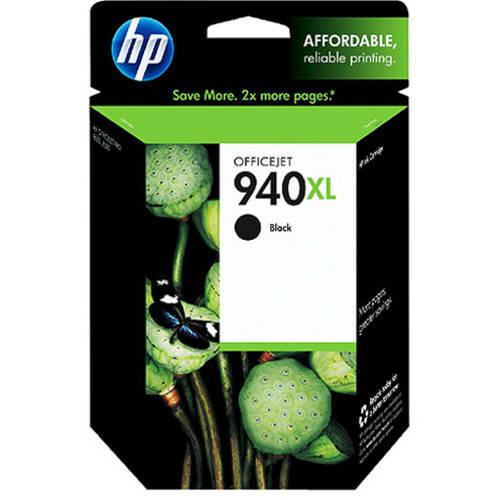 HP 940XL Black High Yield Original Ink Cartridge (C4906AN)