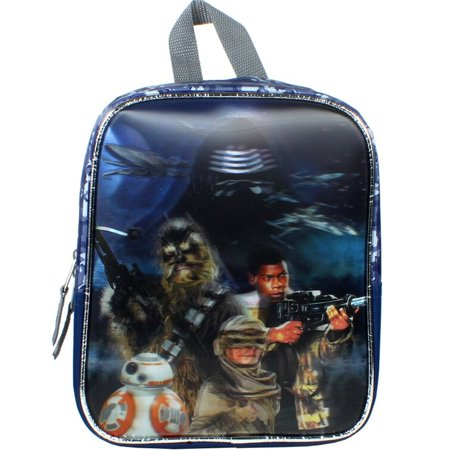 Disney Star Wars 3D Mini 11 inch Backpack, Toddler Bag