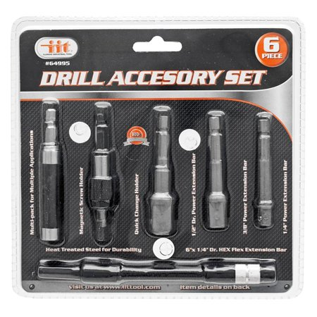 Illinois Industrial Tool 6 Pc  Drill Accessory Set