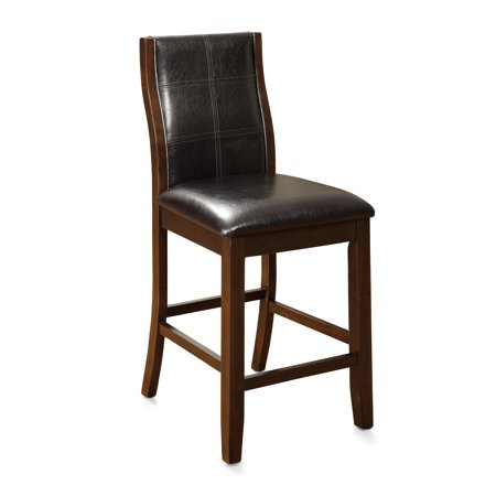Furniture of America Dana Contemporary Counter Height Dining Chair (Set of 2) ()