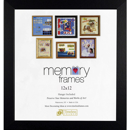 Timeless Frames Anna Memory 12x12 Photo Frame, 2-Pack