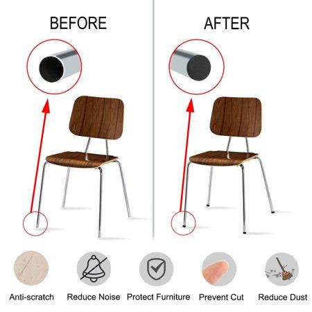"50mm 2"" OD Plastic Tube Inserts Pipe 16pcs 1.85""-1.93"" Inner Dia Stool Legs - image 5 of 7"