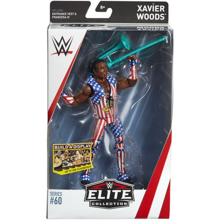 Xavier Woods - WWE Elite 60 Toy Wrestling Action Figure (Tony Woods)