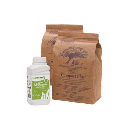 Raised Garden Bed Fertilizer - The Best Elevated Garden Booster Kit, Revitalize the soil in your elevated gardens and raised beds By Gardeners Supply