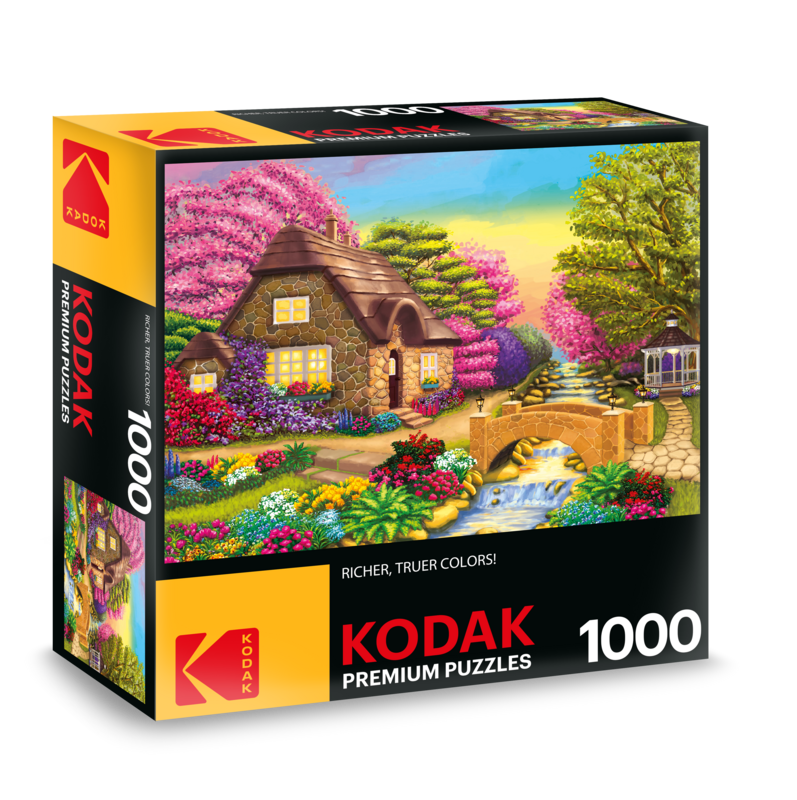 Kodak 1000 Piece Premium Jigsaw Puzzle Dream Cottage Retreat by Cra Z Art