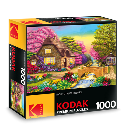 Kodak 1000 Piece Premium Jigsaw Puzzle Dream Cottage Retreat