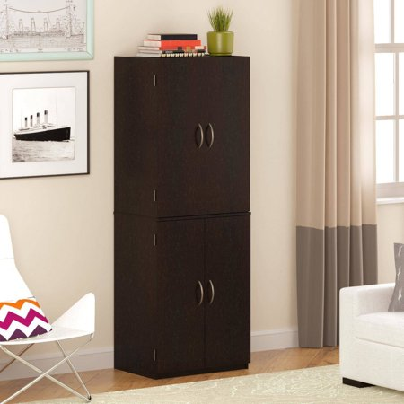 Lockable Cupboard - Mainstays Storage Cabinet, Multiple Finishes