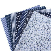 7pcs DIY Assorted Printed Floral Patchwork Cotton Fabric Cloth Quilting Material