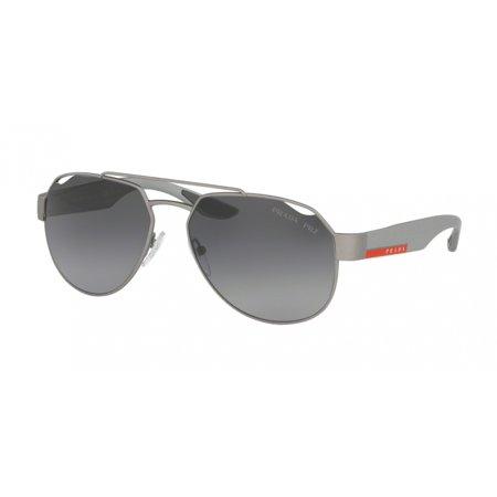 Prada Linea Rossa 57US Lifestyle Sunglasses 4495W1 Grey