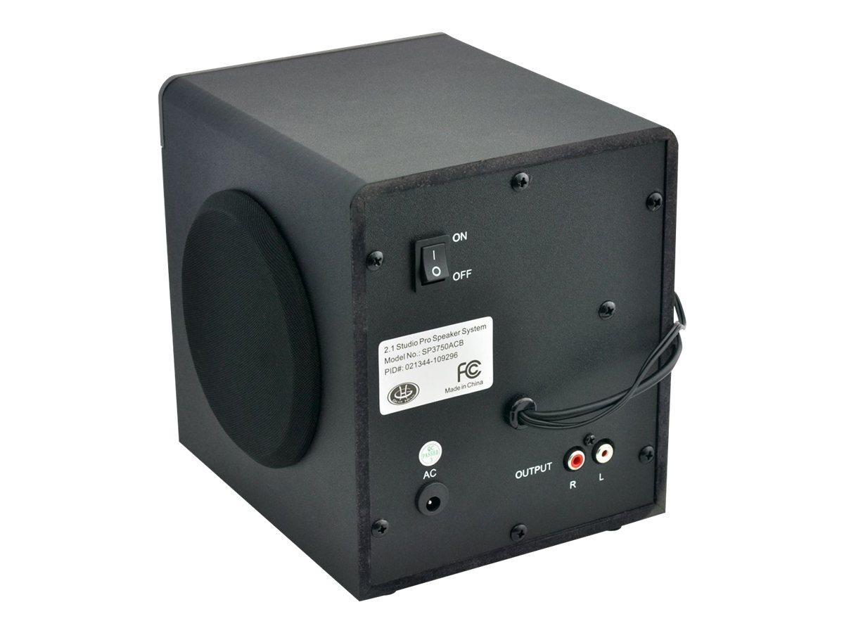 Altec Lansing Bx1220 Wiring Diagram Tsb Diagrams Gear Head Sp3750acb 21 Speaker System 16 W Rms 30 Hz 20 Khz Walmart