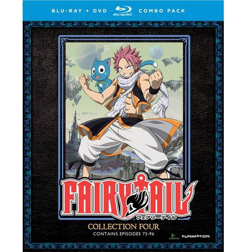 Fairy Tail: Collection Four (Blu-ray + DVD) (Japanese)