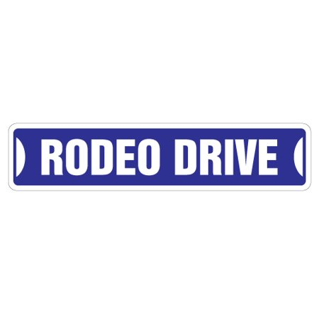 Hollywood Signs For Sale (RODEO DRIVE Street Sign beverly hills california hollywood ca | Indoor/Outdoor | 24