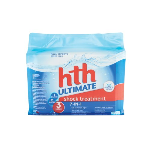 hth® ultimate  shock treatment, 6 count 1 lb. bags