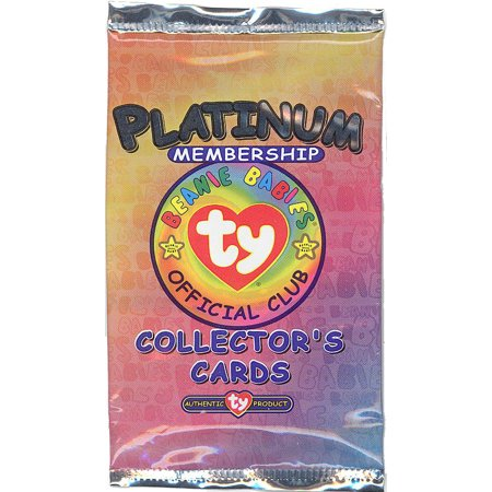 TY Beanie Babies Collectors Cards (BBOC) - Platinum Membership Pack Version 2 (3 cards)