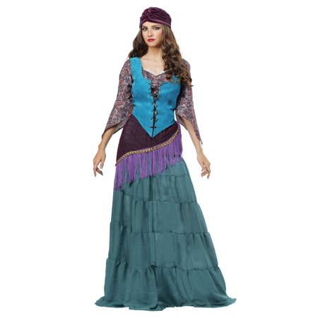 Fabulous Fortune Teller Gypsy Women's Plus Size Costume - image 2 de 2