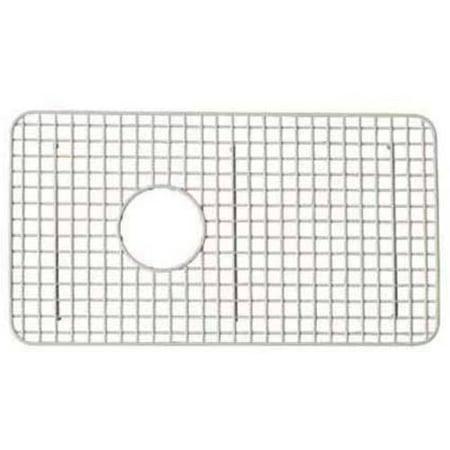 Drop In Kitchen Sink Biscuit (Rohl WSG3018BS Wire Sink Grid For RC3018 Kitchen Sink in)