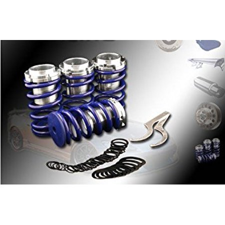 (Blue)88-91 Honda Crx / 88-00 Honda Civic Eg Ek Ex Lx / 90-01 Acura Integra Gs Ls Dc2/90-02 Honda Accord Dx Ls Ex Lowering Coilover Spring Accord Lowering Springs