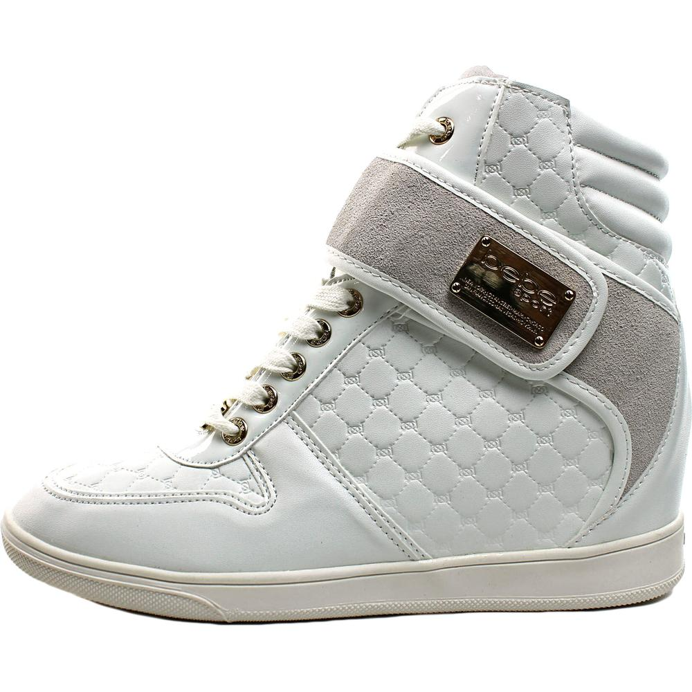 5289c7b1058 Bebe Sport - Bebe Sport Colby Women Leather White Fashion Sneakers -  Walmart.com